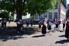 Platzkonzert auf dem Dorfplatz