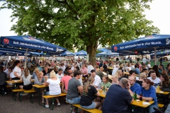 Der größte Biergarten Kahls