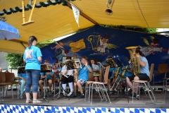 """... sorgte das jüngste Nachwuchsorchester """"Young Wood And Brass"""" für gute Unterhaltung"""