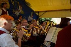 Der Trompeten und Flügelhornsatz